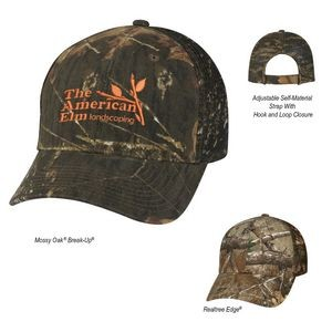 Realtree� And Mossy Oak� Hunter's Retreat Mesh Back Camouflage Cap