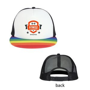 Rainbow Trucker Cap